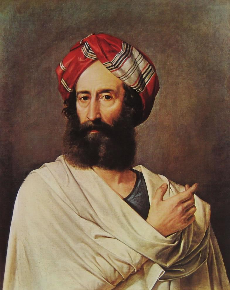 Francesco Hayez:: Levita di Efraim