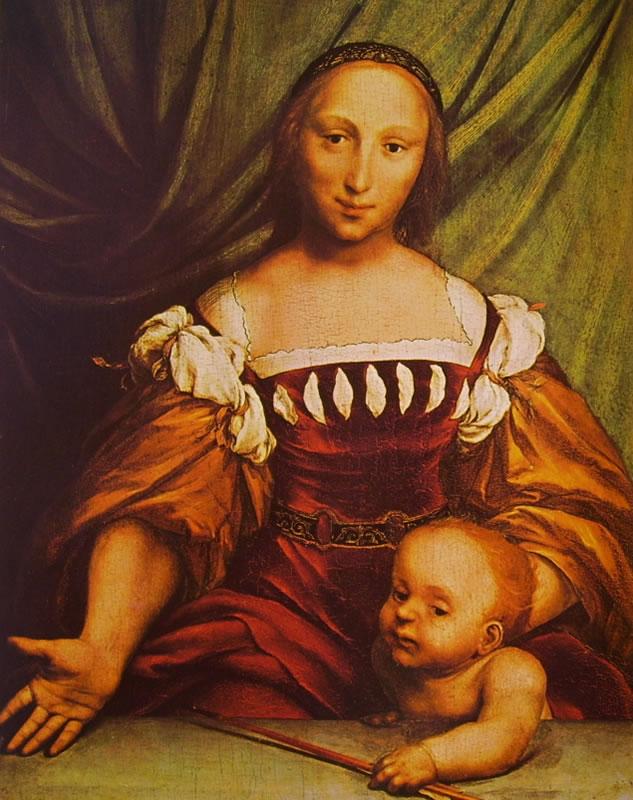 Hans Holbein il Giovane: Venere e amore (Basilea)
