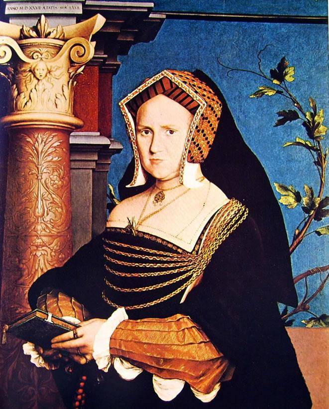 Hans Holbein il Giovane: Ritratto di Mary Wotton - Lady Guildford