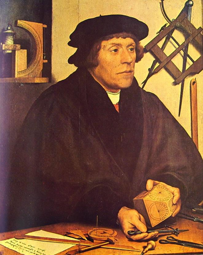 Hans Holbein il Giovane: Ritratto dell'astronomo Nikolaus
