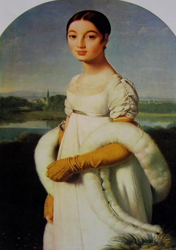 Jean-Auguste-Dominique Ingres: Ritratto di Madamosel Riviere