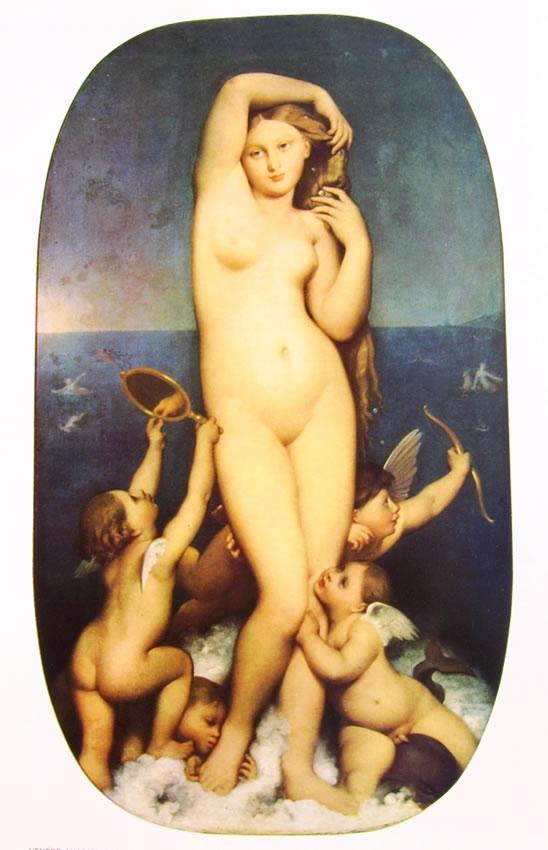 Jean-Auguste-Dominique Ingres: Venere Anadiomene