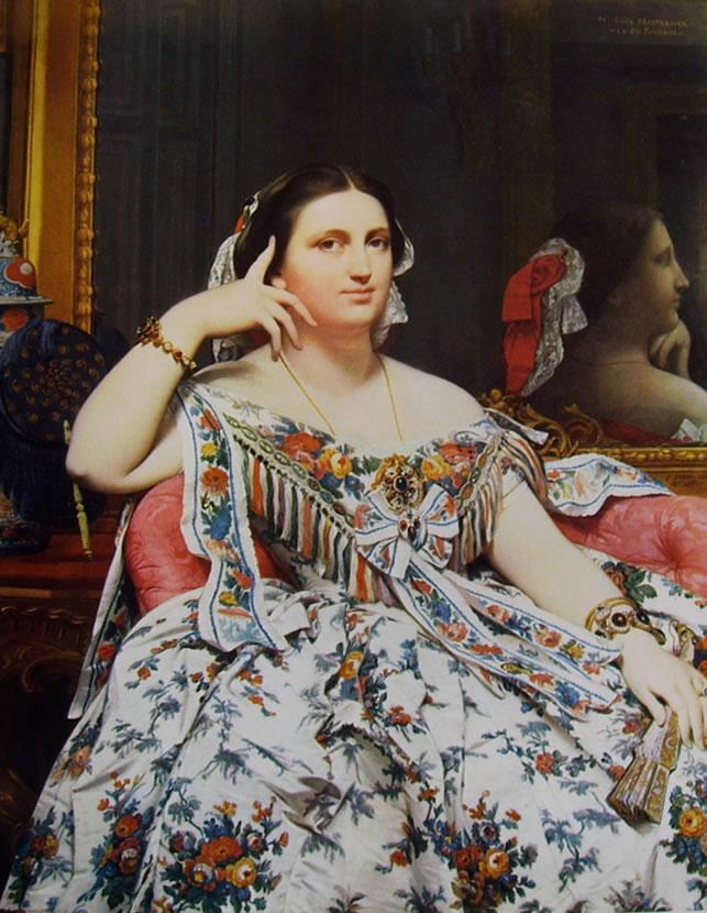 Jean-Auguste-Dominique Ingres: Ritratto di Madame Moitessier