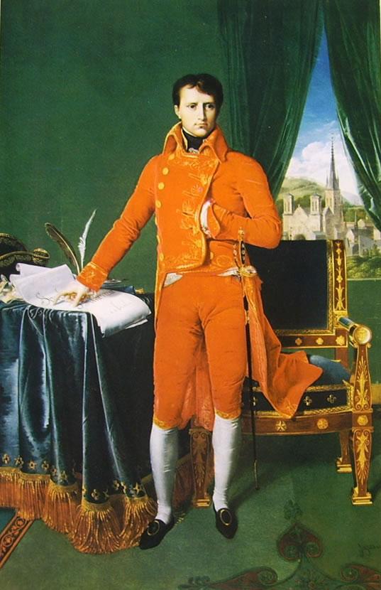 Jean-Auguste-Dominique Ingres: Napoleone Bonaparte primo console