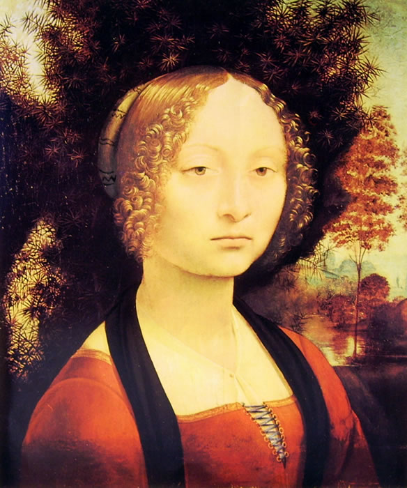 Leonardo da Vinci: Ritratto di donna (Washington)