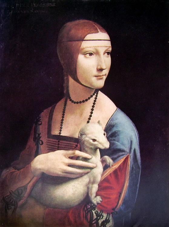 Leonardo da Vinci: Ritratto di donna con ermellino
