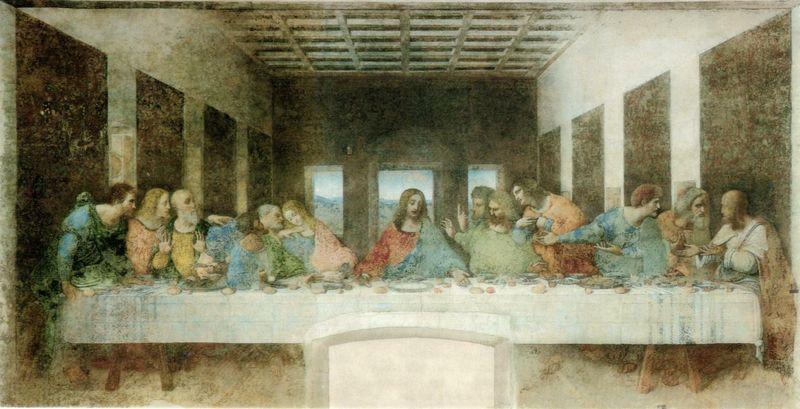 Leonardo - Il Cenacolo (l'ultima cena)
