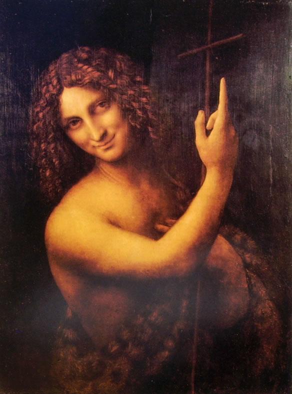 Leonardo: S. Giovanni Battista (Louvre)