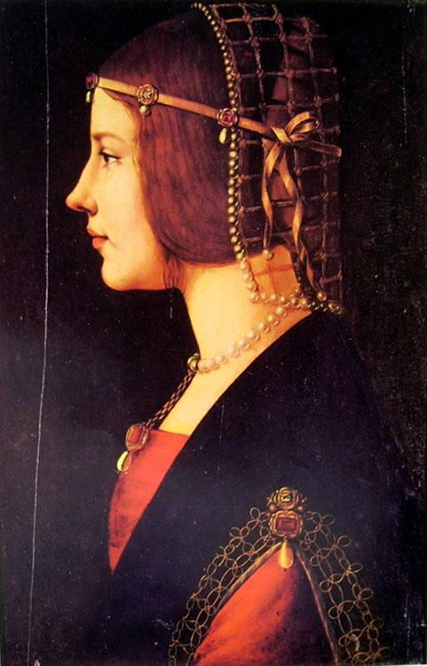 Leonardo: Ritratto di donna (Pinacoteca Ambrosiana)