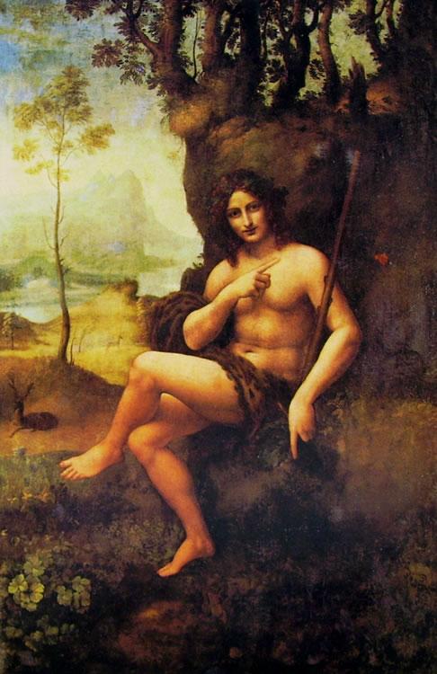 Leonardo: Bacco (Louvre)