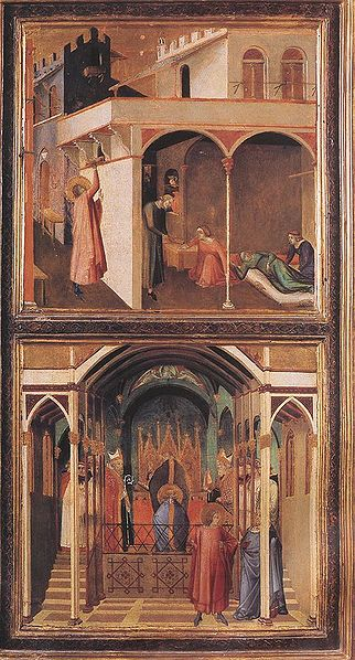 Ambrogio Lorenzetti: Miracoli di San Nicola da Bari