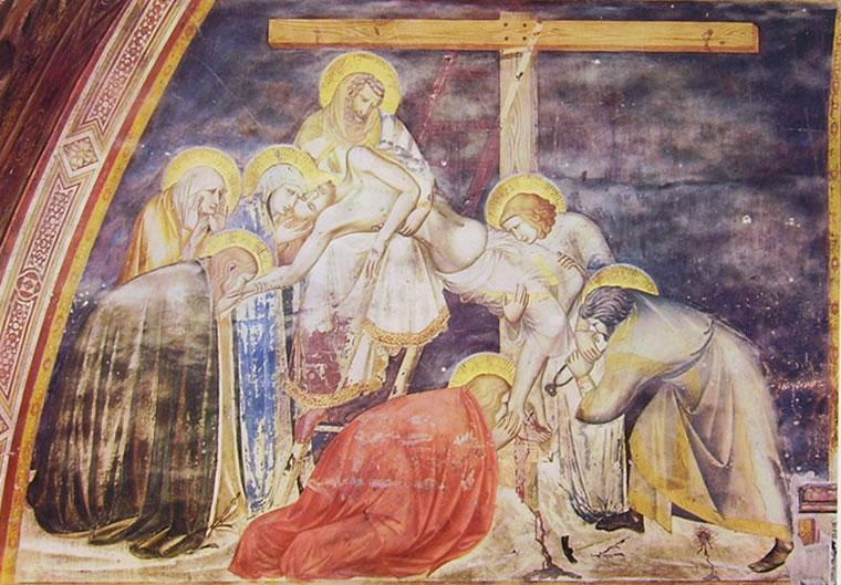 Pietro Lorenzetti: Deposizione dalla croce (Assisi)