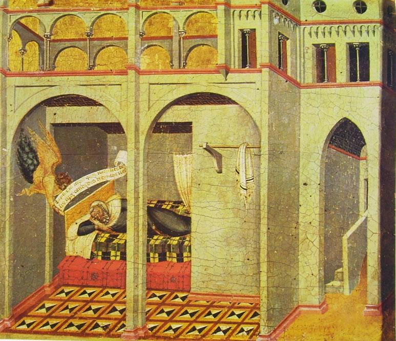 Pietro Lorenzetti:Pietro Lorenzetti Sogno di Sebac