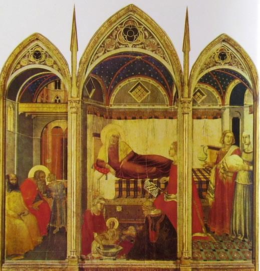 Pietro Lorenzetti: Natività della Vergine (Siena)
