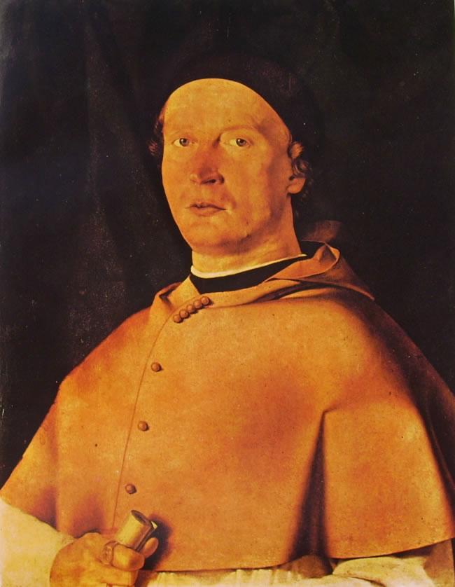 Lorenzo Lotto: Ritratto del vescovo Bernardo de' Rossi