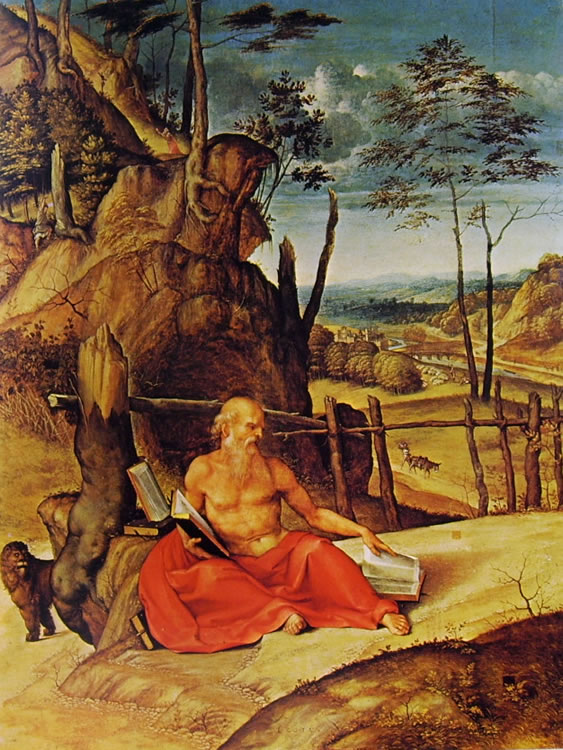 Lorenzo Lotto: San Gerolamo penitente