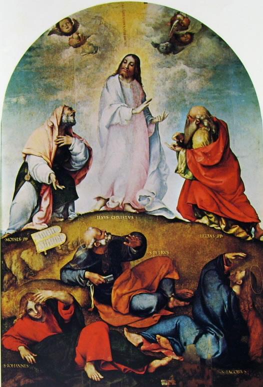Lorenzo Lotto: Pala della Trasfigurazione (Recanati)