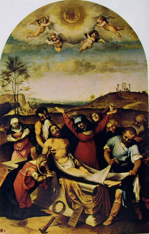 Lorenzo Lotto: LaDeposizione (Iesi)