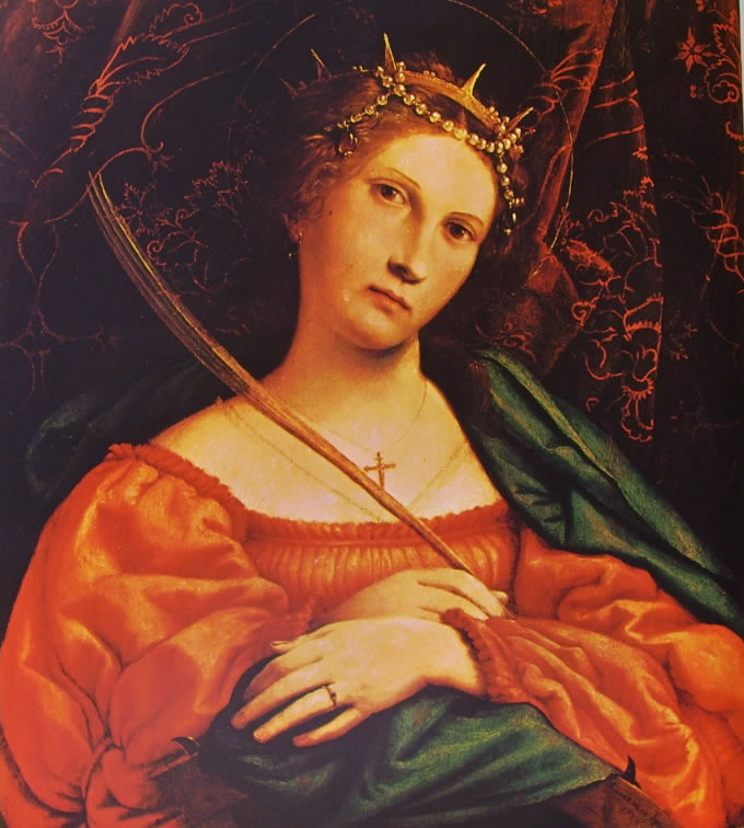 Lorenzo Lotto: Santa Caterina d'Alessandria