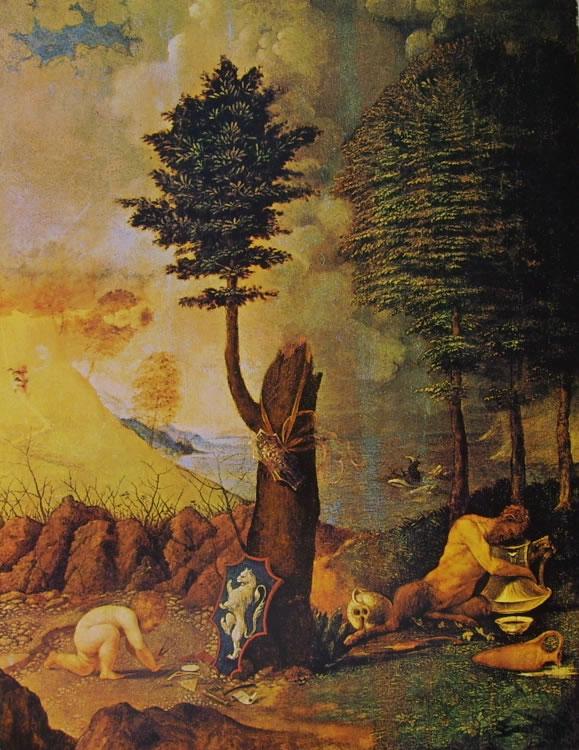 Lorenzo Lotto: Allegoria (Washington)