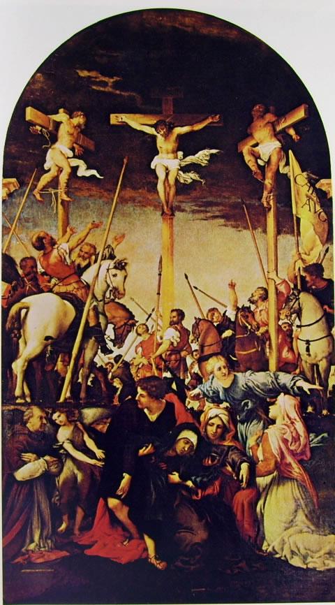 Lorenzo Lotto: Crocifissione (Monte San Giusto)