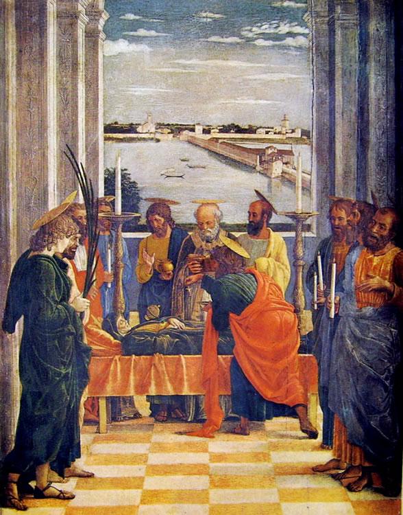 Mantegna: La morte della Madonna (Prado)