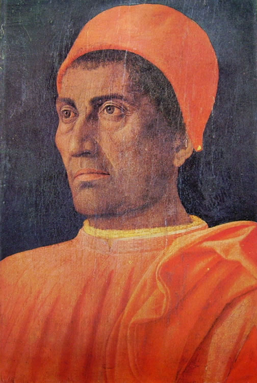 Mantegna: Ritratto del cardinale Carlo de' Medici