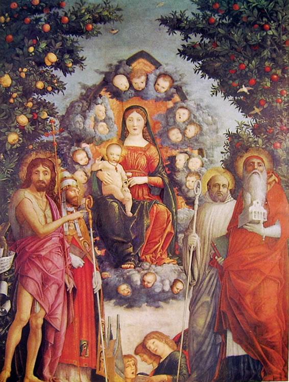 Mantegna: Madonna Trivulzio