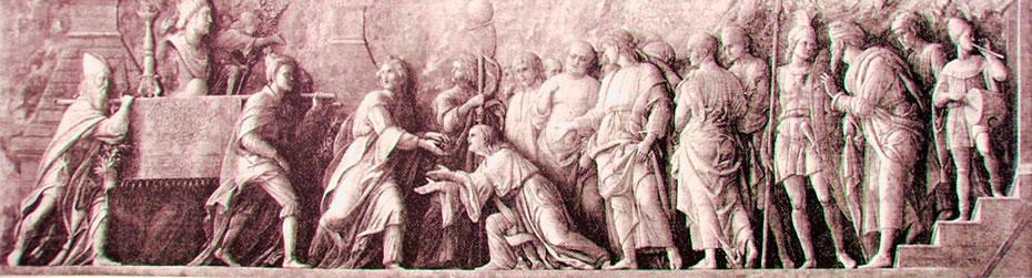 Il trionfo di Scipione (Londra) del Mantegna