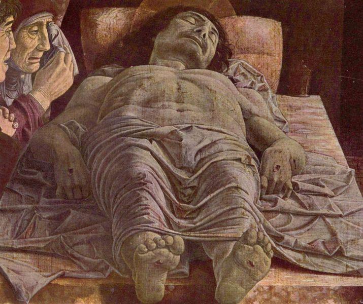 Mantegna: Cristo morto (Brera)