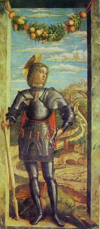 Mantegna: San Giorgio (Accademia di Venezia)