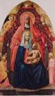 1 Masaccio - Sant'Anna la Madonna col bambino e angeli