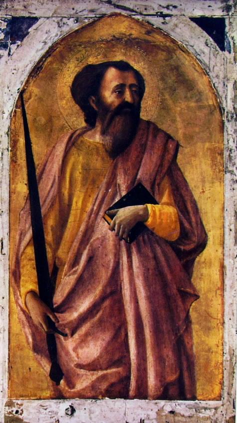 Masaccio: Polittico di Pisa - San Paolo
