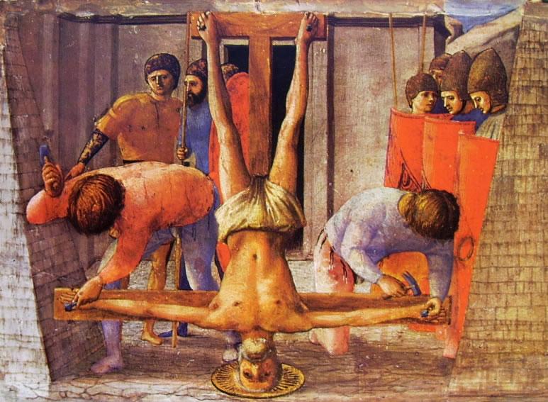 Polittico di Pisa: Il martirio di San Pietro (Berlino)