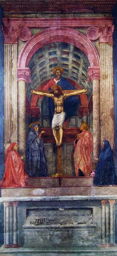 Masaccio: La Trinità (Santa Maria Novella)