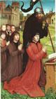 Willem Moreel con i figli e San Guglielmo di Maleval