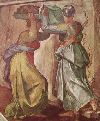 Michelangelo Buonarroti:Giuditta e Oloferne Volta della Cappella Sistina