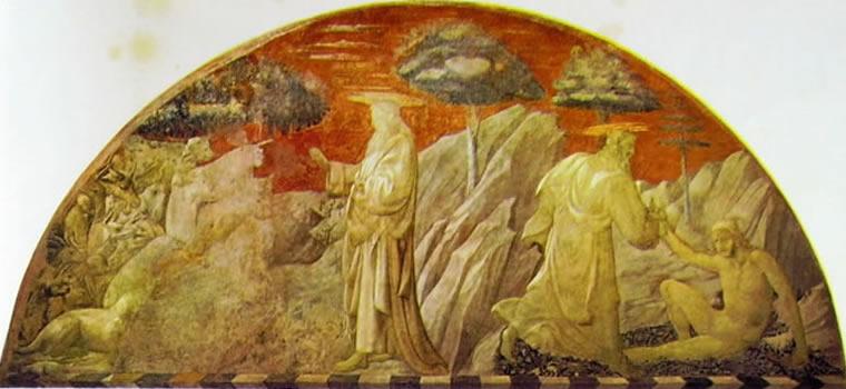 Paolo Uccello: Creazione degli animali e Creazione di Adamo