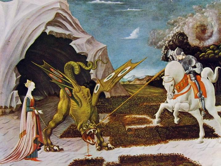 Paolo Uccello: San Giorgio e il drago (Londra)