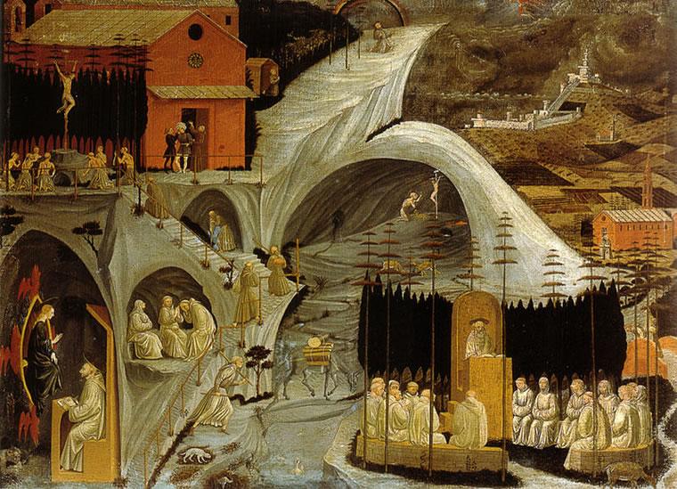 Paolo Uccello: Episodi di vita eremitica (Tebaide)