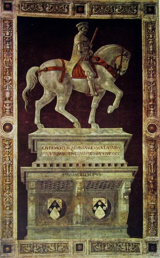 Paolo Uccello: Monumento a Giovanni Acuto