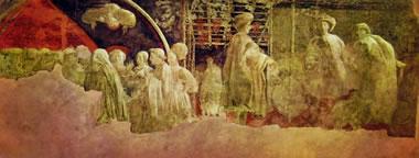 Storie di Noè in Santa Maria Novella - Diluvio e Recessione delle acque