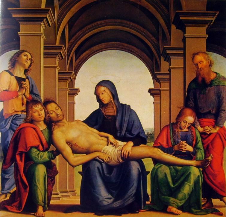 Il Perugino: La Pietà (Uffizi)