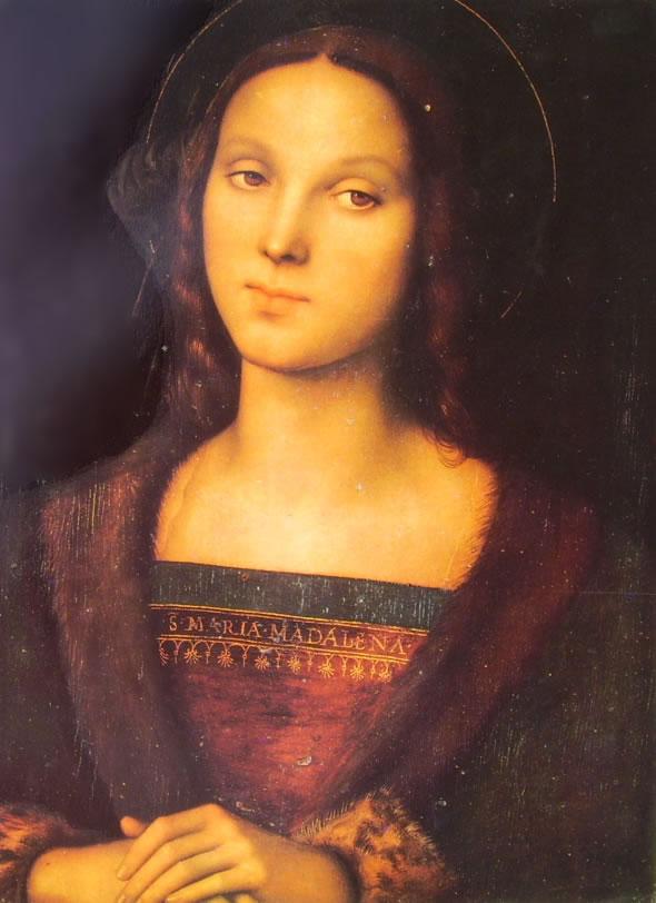 Il Perugino: La Maddalena di Palazzo Pitti