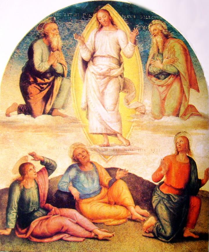 Il Perugino:La Trasfigurazione nell'Ornamentazione del Cambio