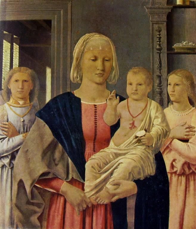 Piero della Francesca - Madonna di Senigallia