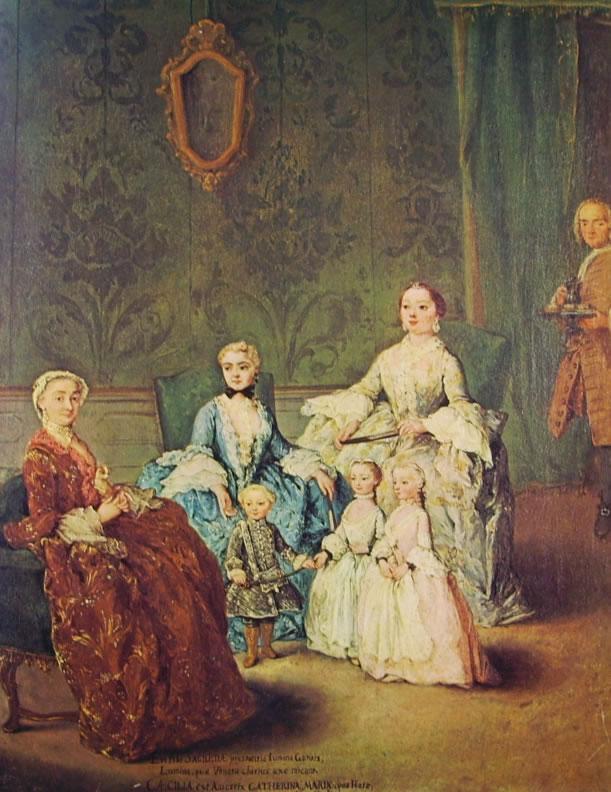 Pietro Longhi: La famiglia Sagredo