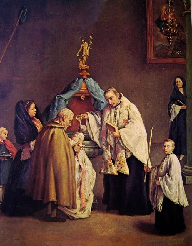 Pietro Longhi: Il battesimo della Querini Stampalia