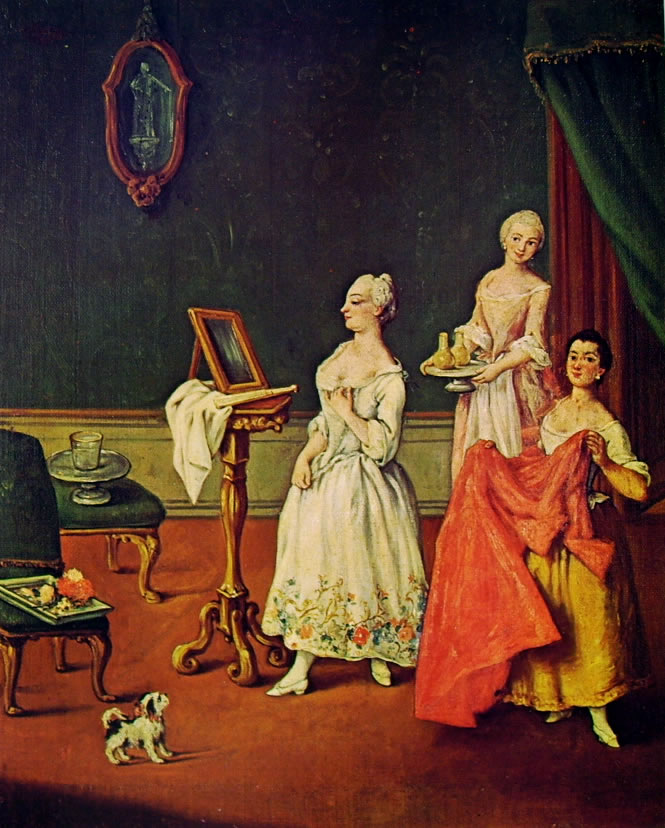 Pietro Longhi: La toeletta