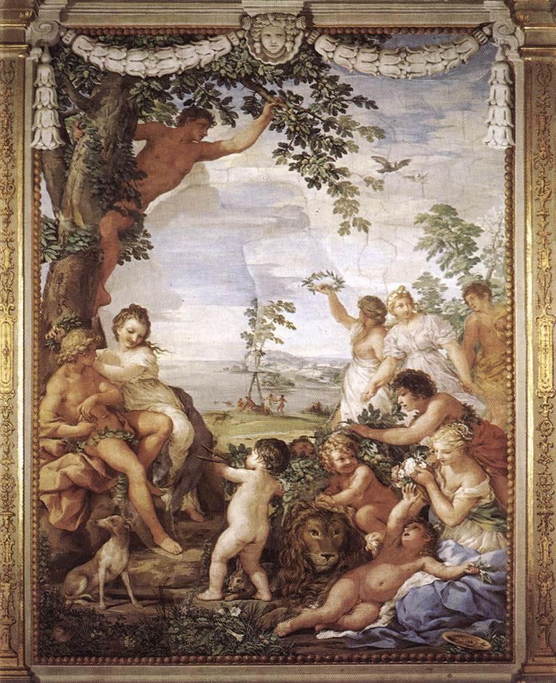 Pietro da Cortona: Età dell'oro (Palazzo Pitti)